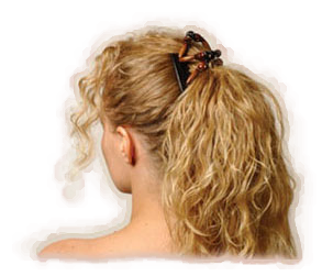 Up ponytail, Comfortable stylish hair clips which can be used to create many different styles