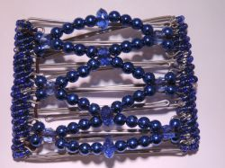 Blue One Clip medium - 7 prongs, approx 7cm