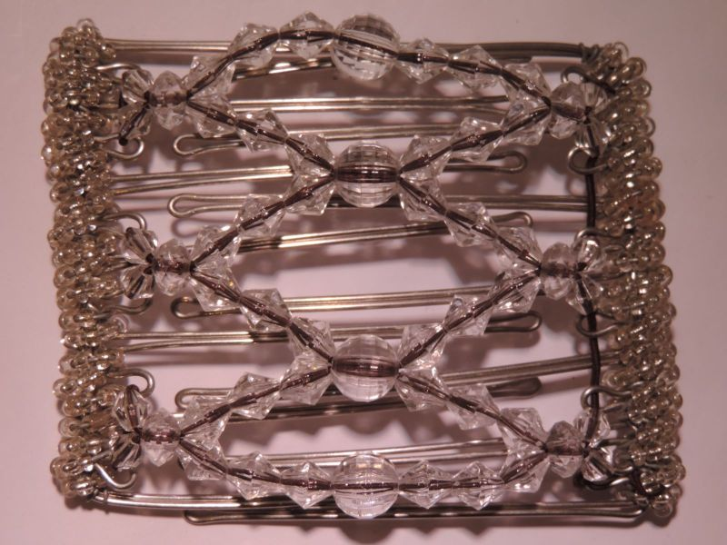 Clear One Clip medium - 7 prongs, approx 7cm