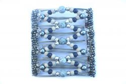 Pretty Blues Original One Clip  - 9 prongs, approx 10cm